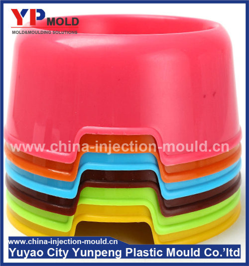Plastic pet bowl mold, injection bowl, pet feeder (from Tea)