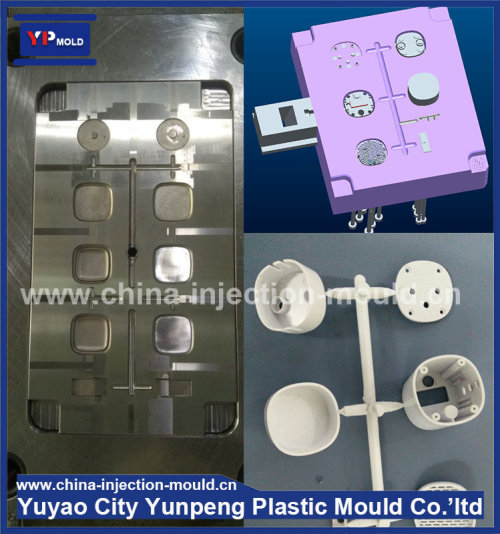 Injection plastic mould for mobile usb power bank plastic housing mould (with video)