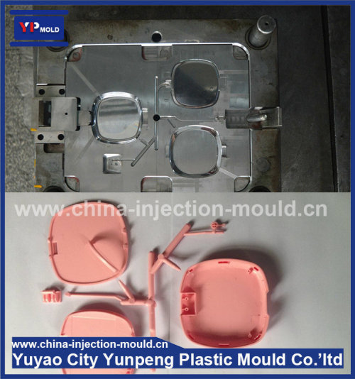 Lower price power bank plastic injection mould and custom power switch plastic injection (with video)