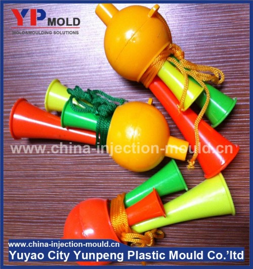 Multiple styles plastic injection plastic toy trumpet mold factory (from Tea)