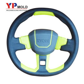 custom plastic overmolding auto steering wheel overmolding injection mold