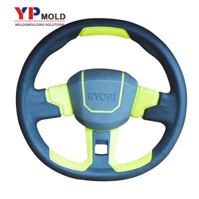 custom plastic overmolding auto steering wheel overmolding injection mold
