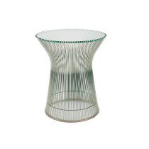 Stainless Steel Warren Platner Side Table