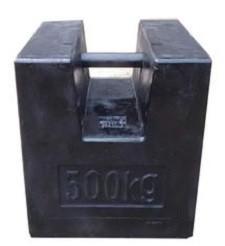 Standard M1 500kg Iron cast scale testing Calibration Weight mass
