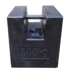 Standard M1 500kg Iron cast scale testing Calibration Weight mass