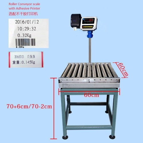 RC6060-P Express Roller conveyor scale with printer
