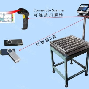 RCSC6060 SCANNER ROLLER conveyor scale