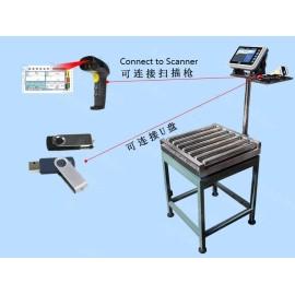 RCSC6060 SCANNER ROLLER conveyor scale