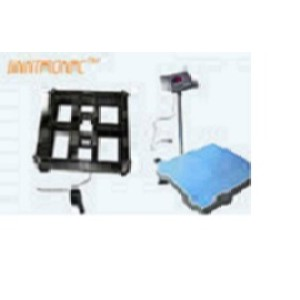 Blue Industrial Weighing Scales Light Weight Mild Steel Welding Structure