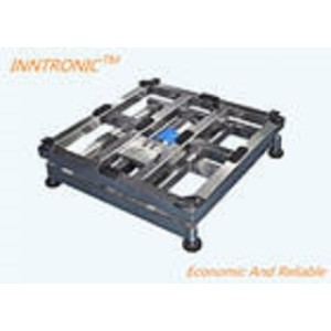 AC - DC Dual Power Industrial Pallet Scales IP67 With Overloading Indication