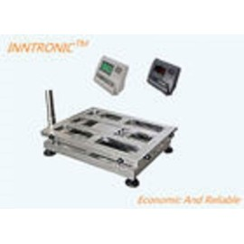 300x300mm 100kg Digital Bench Scales , Mild Steel Electronic Platform Scale