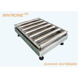 RS485 Output Slope Roller Conveyor Scale With Alarm Of High Precision Counting Scale