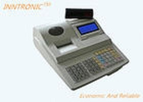 Multifunctional Thermal Print Cash Register With RS232 LCD Display 60000 PLUS
