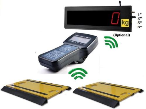 INPT-S001-B series S001-BIG wireless portable truck scale for measure axle weight