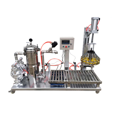LAGZ-GT-50KG/1G High precision roller weighing filling machine
