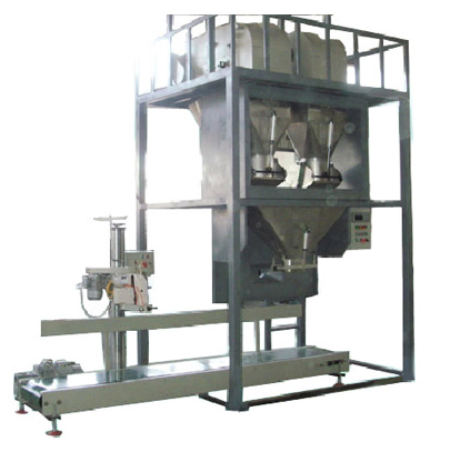 Automatic weighing and packing machine for special materials