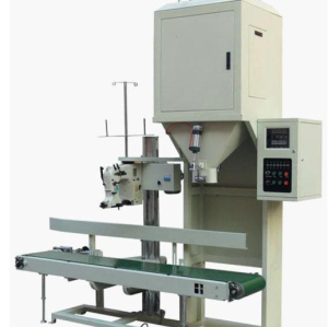 High speed weighing and packing machine
