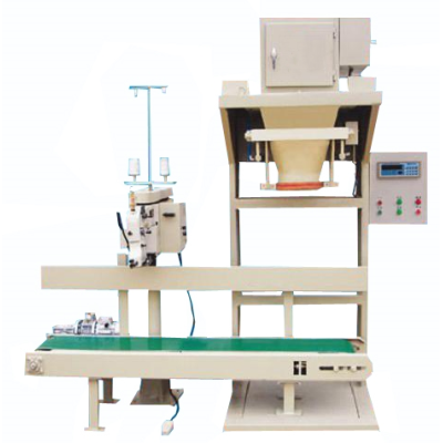 Semi-automatic granule material packing scale (no bucket scale)