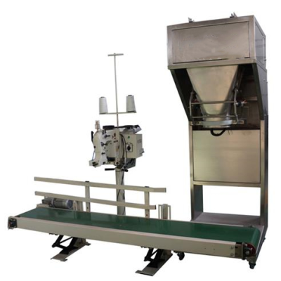 Pellet packing machine without bucket