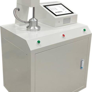 Automatic filter material test bench