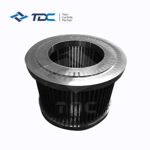 High hardness manufacturers produce carbide grinder grading wheel grinder accessories