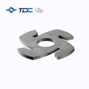Manufacture tungsten carbide dispersion plate for  bead mill