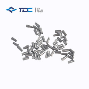 Cemented carbide tire studs pin