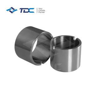 High precision tungsten Carbide Wear Resistant Thread Bushing/Sleeve/Sleeve Bearing