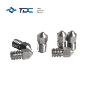 Tungsten Carbide 3D Printer Carbide Nozzle
