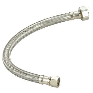 Flexible stainless steel braided toilet hose