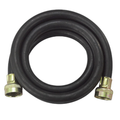 Rubber reinforced washing machine water inlet hose