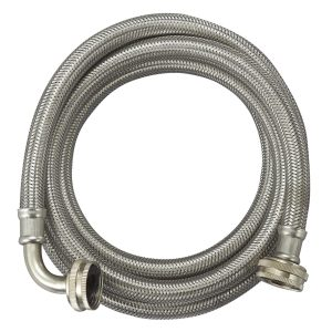 Flexible stainless steel washing machine water inlet braided hose