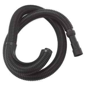 expandable Black 6FT PE corrugated washing machine discharge connector