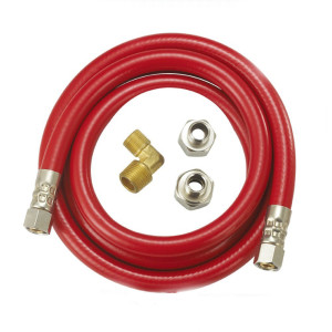 Reinfored PVC dishwasher hose