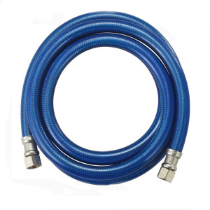 Flexible Blue inner braided stainless steel dishwasher connector