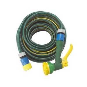 Green Finger 1/2 Inch PVC Gardening Hose With Brass Accessories
