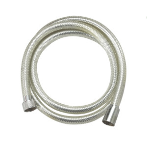 Aluminum foil braided flexible reinforced PVC shower hose