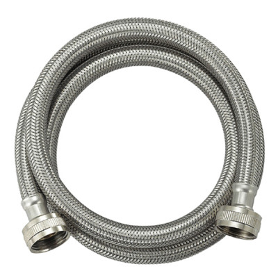 OD 13.5MM 304 stainless steel braided washing machine inlet hose