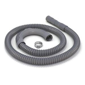 Plastic washing machine corrugated drain hose