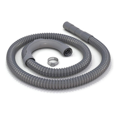Plastic washing machine corrugated drain hose