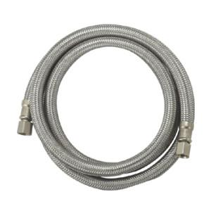 OD: 1/2'' Flexible 304 stainless steel braid ice maker hose