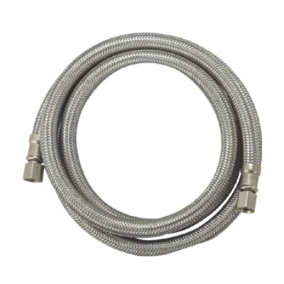 OD: 1/2'' Flexible 304 stainless steel braid ice maker hose