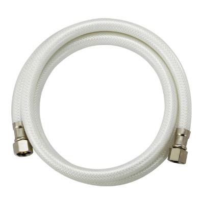 Flexible white PVC reinforce dishwasher hose OD 13MM