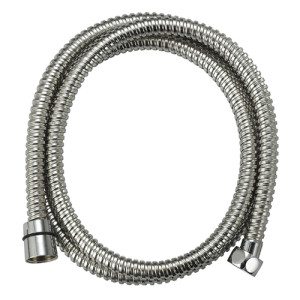 150cm long Chrome Stainless Steel Bathroom Bath Shower Water Hose
