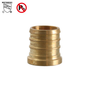 3/8 Inch PEX Plug End Cap Brass Lead Free