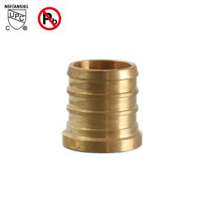 1/2 Inch PEX Plug End Cap Brass Lead Free