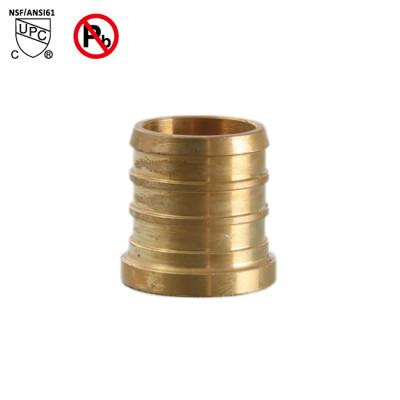 3/8 Inch PEX Plug End Cap Brass Lead Free