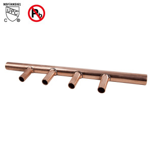 3-Port Sweat Copper Manifold 3/4