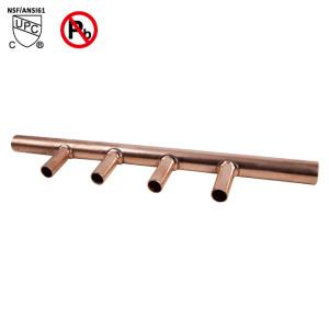 4-Port Sweat Copper Manifold 3/4
