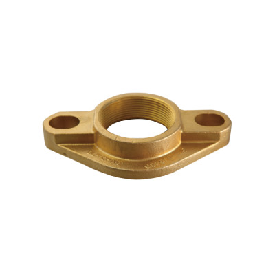 1-1/2 Inch NPT Oval Threaded Flange